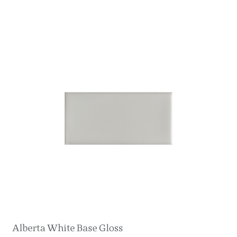 Alberta White Base Gloss Tile