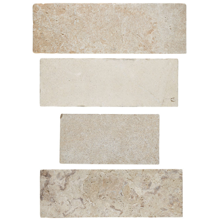 French Melange Limestone Tile -Swatches