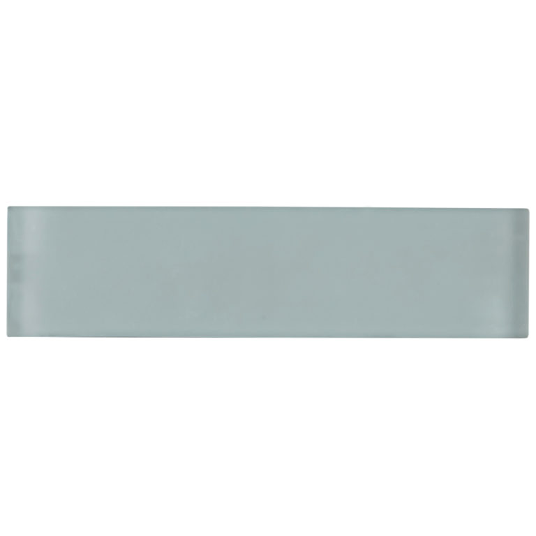 Glacier Grey Glass Tile 240x60x8mm -Swatch