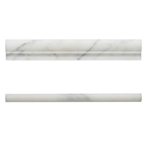 Calacatta Vein Honed Marble Mouldings