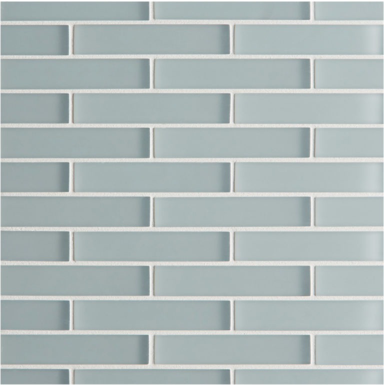 Glacier Grey Gl Brick Mosaic Tiles