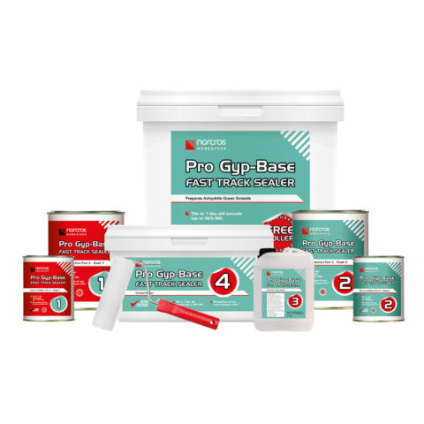Norcros Pro Gyp Base Fast Track Sealer Kit