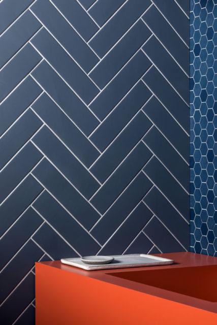 Herringbone Tile Inspiration Mandarin Stone