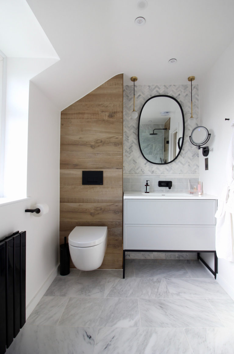 Bathroom Makeovers With Seasons In Colour Mandarin Stone