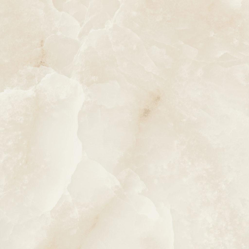Mimica Onyx White Gloss Porcelain Tiles Mandarin Stone