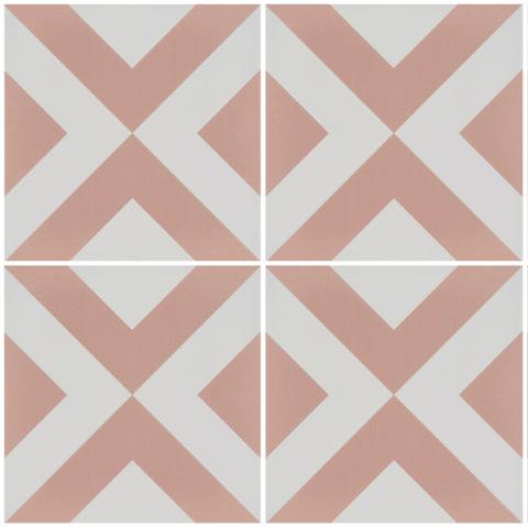 Geo Pink Porcelain
