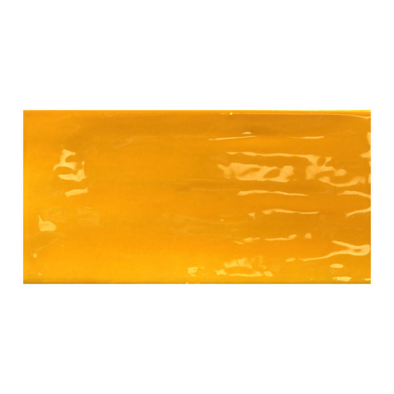 Glazed Ceramic Tile Paintbox Canary Gloss