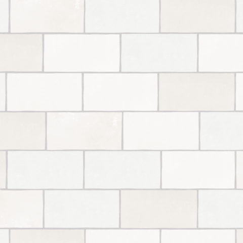 Zellige Nouveau Metro White Matt Ceramic