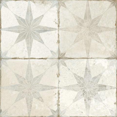 Motif White Star Ceramic