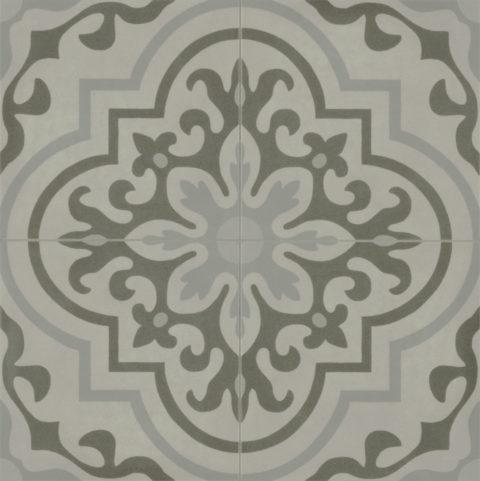 Ezra Grey Decor Porcelain