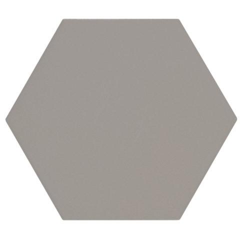 Oska Ashen Matt Porcelain Hexagon