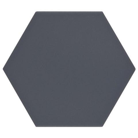 Oska Indigo Matt Porcelain Hexagon
