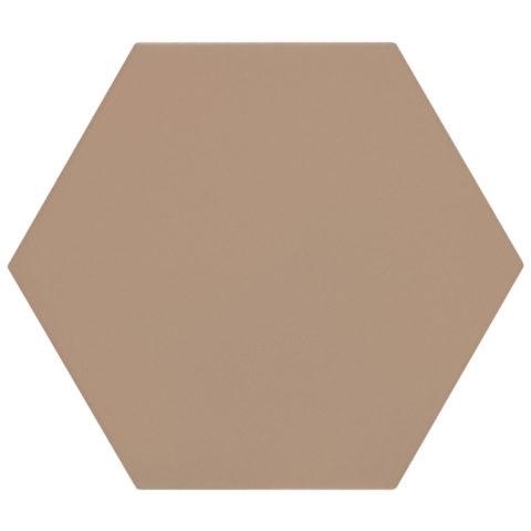 Oska Shell Matt Porcelain Hexagon