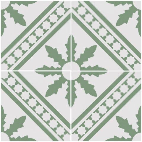 Melrose Green Porcelain