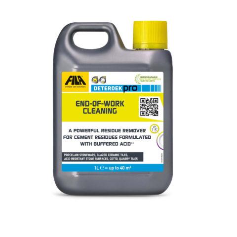 Fila Deterdek Pro   Acid reaction cleaner