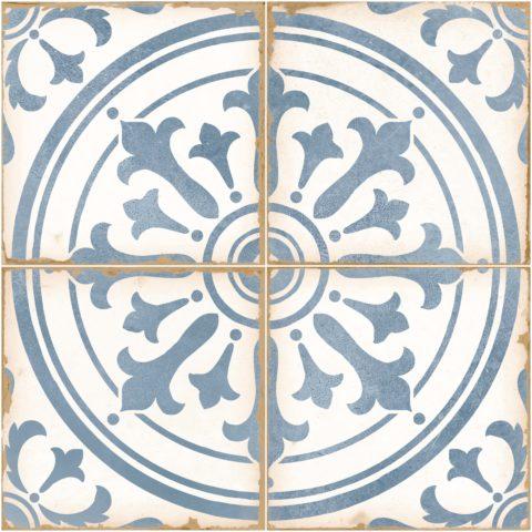 Tangier Bella Blue Ceramic