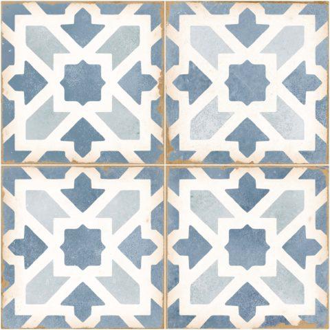 Tangier Ivy Blue Ceramic