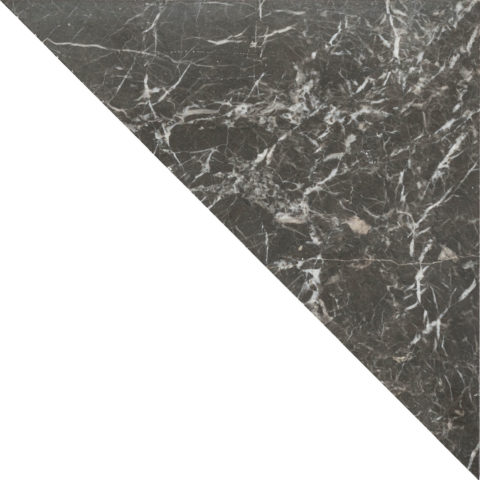Fitz Black Honed Marble Triangle