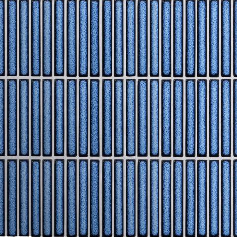 Iggy Blue Gloss Porcelain Mosaic