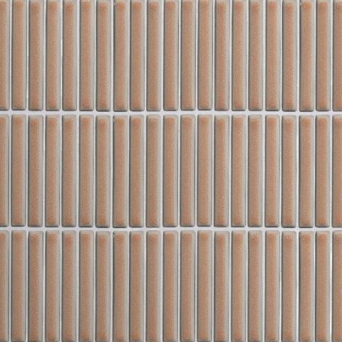 Iggy Pink Gloss Porcelain Mosaic