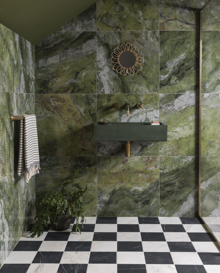 paradise-green-gloss-marble-effect-porcelain-bathroom-tiles