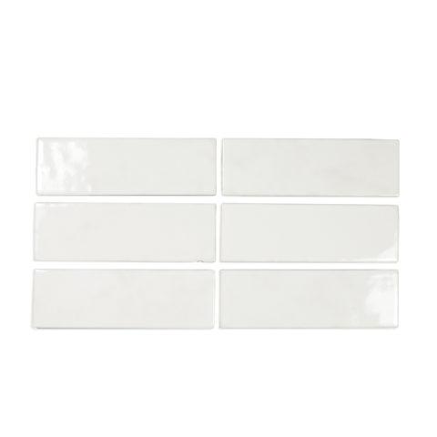 Riad White Gloss Porcelain